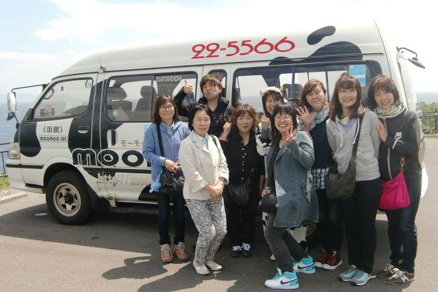 【函館・観光タクシー】函館を丸ごと遊ぼう!函館まんぷくコース