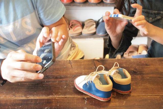 【福岡・靴作り体験】小さな足に思いをはせて。ゆったり作れるベビーシューズ制作2日コース