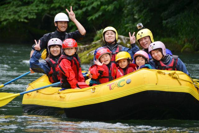 【北海道・十勝・ラフティング】お子さまも楽しめる!スプラッシュクルージング!
