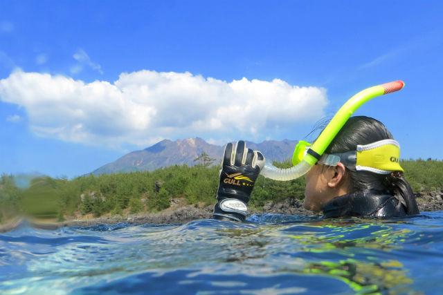 【鹿児島・シュノーケリング】鹿児島の海でシュノーケリング!初心者から参加OKです