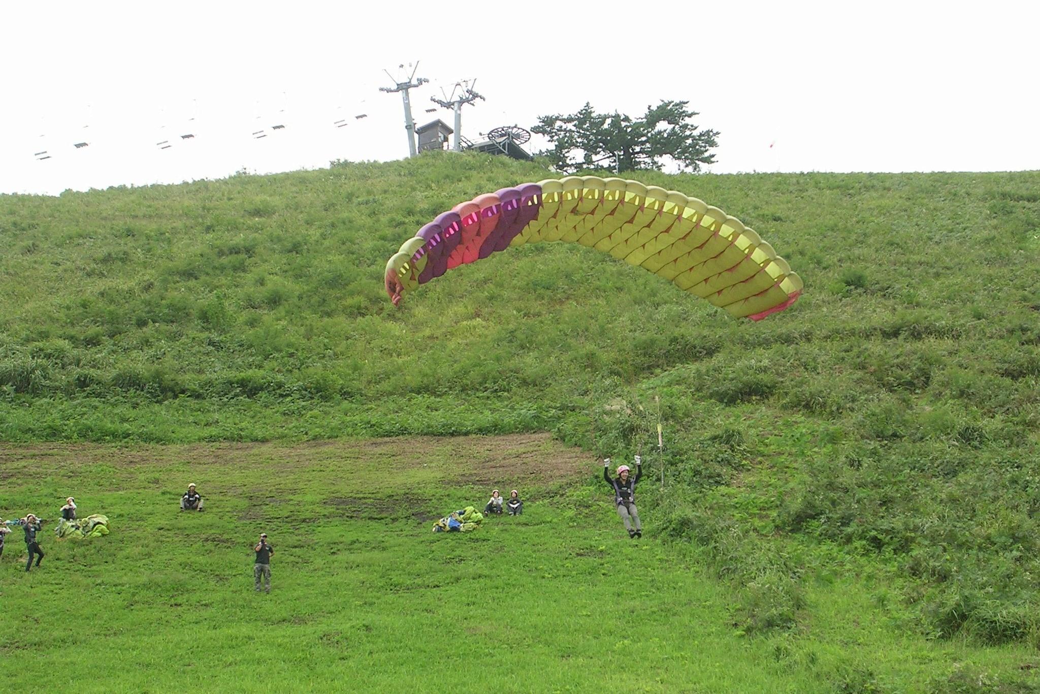 【兵庫・神鍋高原・パラグライダー】1日半の空中散歩!パラグライダーを堪能