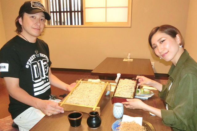 【京都・東山・そば打ち】男性&食いしん坊におすすめ!たっぷり食べよう大盛りプラン