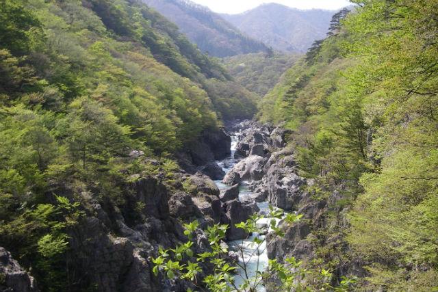 【栃木・日光・ハイキング】龍王峡~川治温泉片道コースをめぐる・1日龍王峡ハイキング