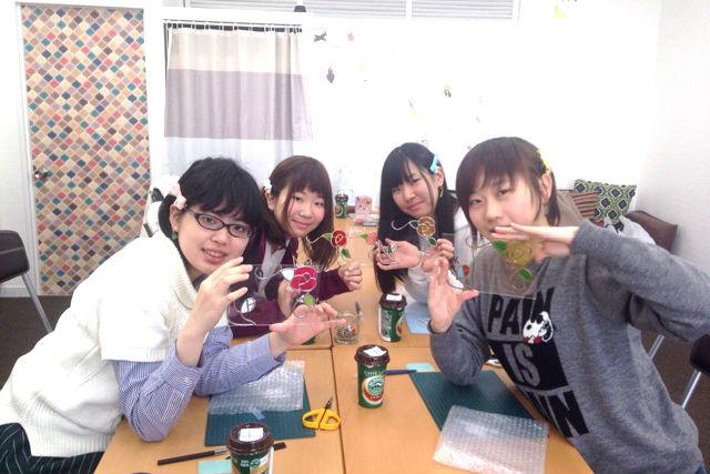 【香川・善通寺市・グラスアート】小学生から大人まで楽しめる!オリジナルフォトスタンド製作