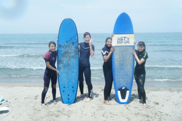 【新潟市・サーフィン】少人数制でしっかり学べる!サーフィン体験レッスン!