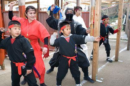 【嬉野・忍者体験】キッズのための本格忍者修行!毎週土日開催のちびっこ忍者アカデミー