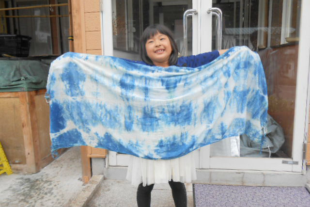【群馬・藍染め体験】こだわりの天然原料が生みだす本物の藍色!素材持ち込みプラン