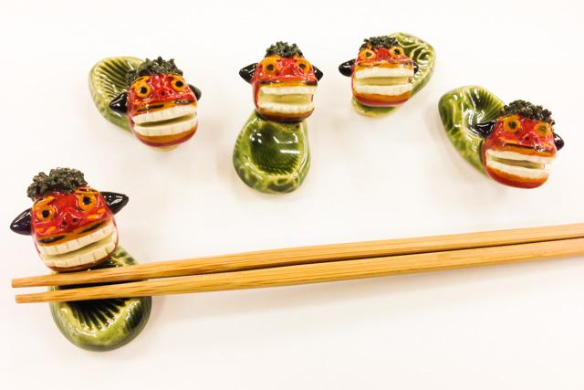 西葛西駅から徒歩5分!陶芸でラッキーアイテム獅子舞の箸置きを作ろう(約2時間)