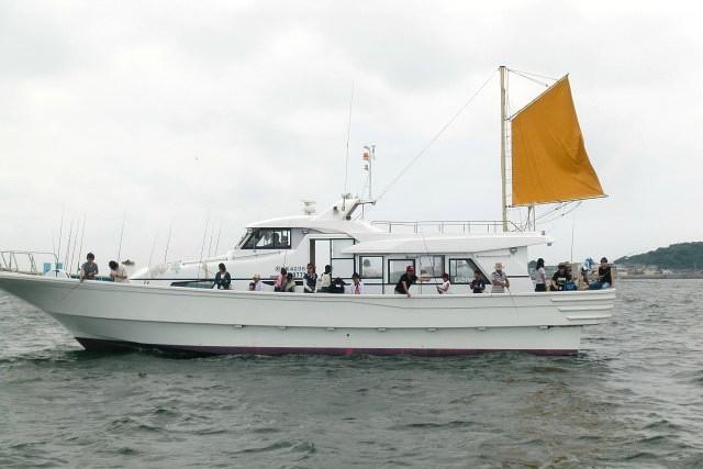 船釣り船上バーベキュー崎っぽ料理松新
