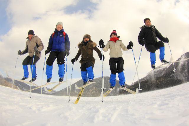 【北海道・然別湖・クロスカントリー】大雪原を満喫しよう。ショートコース