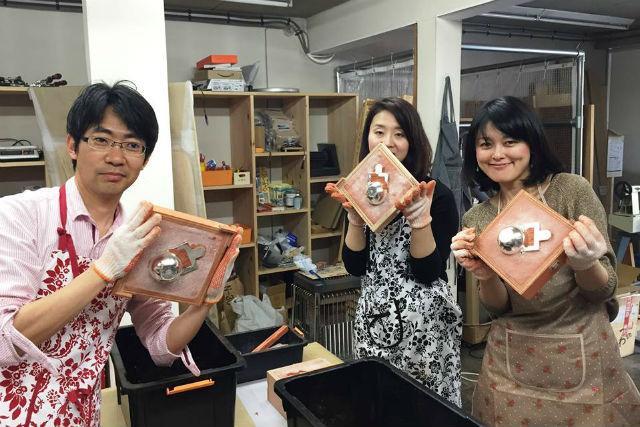 【富山・伝統工芸】400年以上続く高岡の鋳造技術を体験!錫のぐい呑みをつくろう