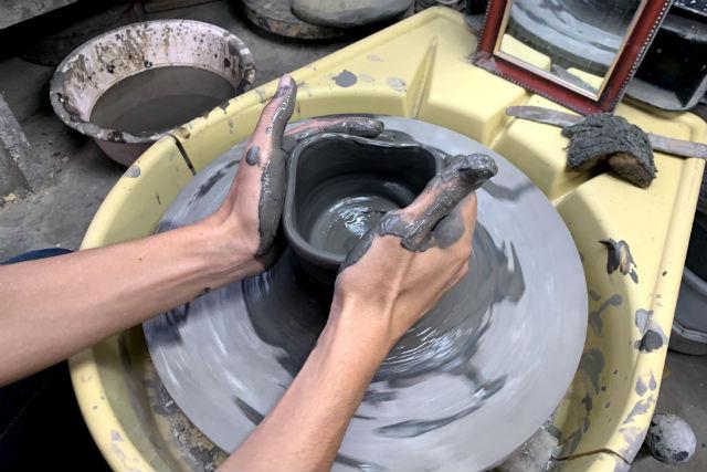 【岡山・陶芸体験・電動ろくろ】備前焼のふるさとで電動ろくろ!登り窯での本格焼成で仕上げます