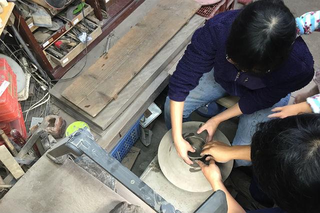 【岡山・陶芸体験・手びねり】備前焼作家が教える陶芸体験!初めてでも本格的な指導が受けられます