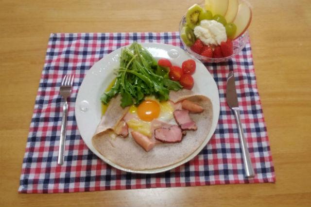 【長野・安曇野市・料理体験】おしゃれなフランス料理!ガレットを作ろう