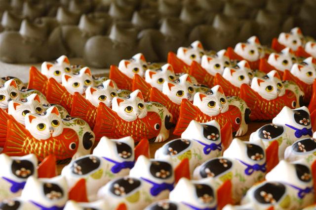 【宮城・仙台市・伝統工芸体験】仙台市の文化財をお持ち帰りできます!堤人形の絵付け体験