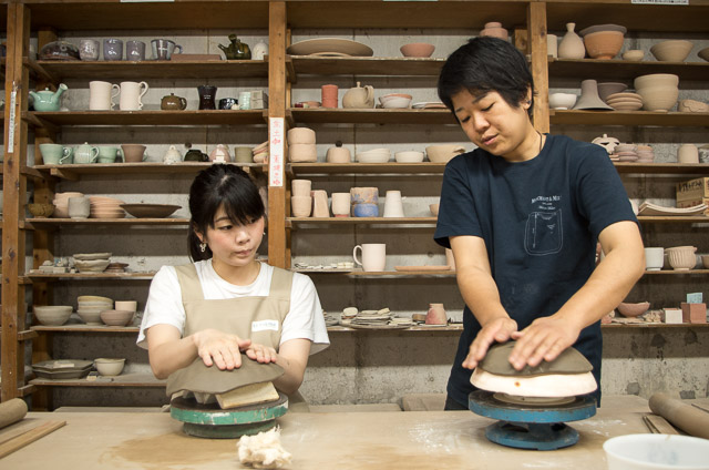 東京 ・ 国立 ・ たたら作り陶芸体験(1.5時間)