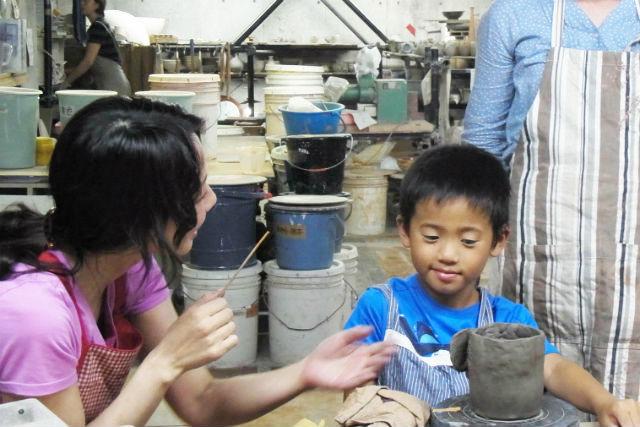 東京 ・ 国立 ・親子で楽しむ手びねり陶芸体験(1.5時間)