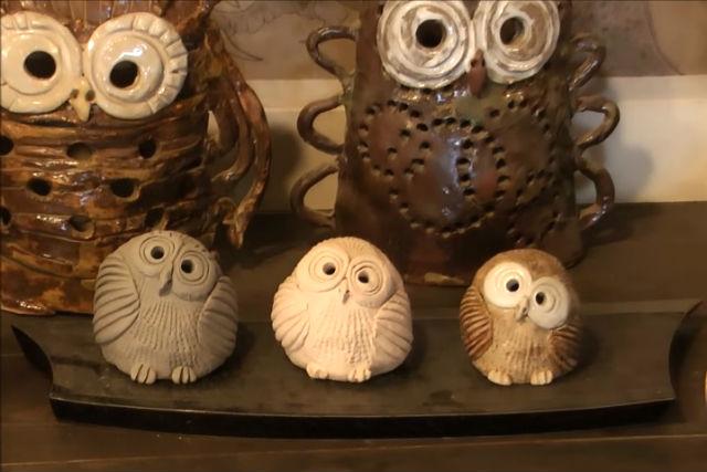 【山梨・陶芸体験】お部屋に飾りたい!幸運を呼ぶフクロウの手びねり陶芸体験