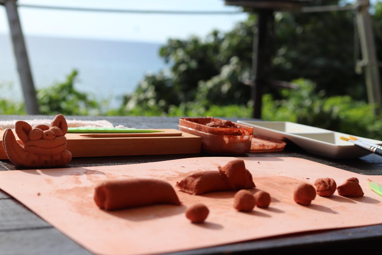沖縄シーサー作りカフェ アンテナ