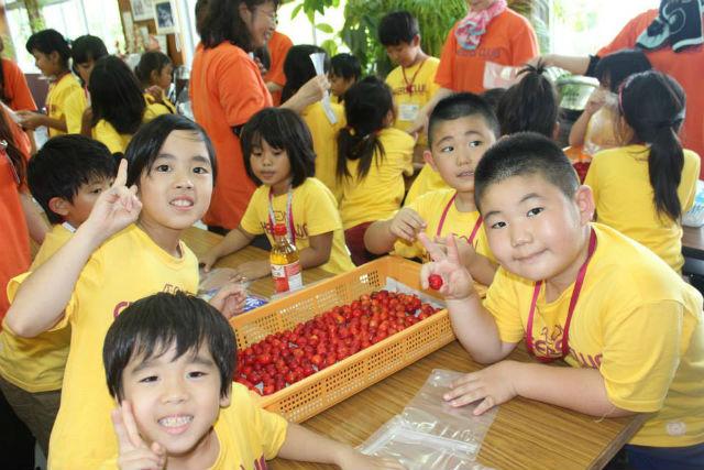【沖縄・料理体験・団体】本部の名産・アセローラを使って、甘酸っぱいジャムを作ろう