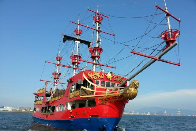 【広島・クルージング】マリーナホップから世界遺産の宮島へ!海賊船で45分のクルージング