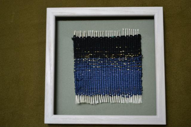 【京都・機織り体験】小さなコースターに自分らしさを表現!お手軽な西陣織り体験