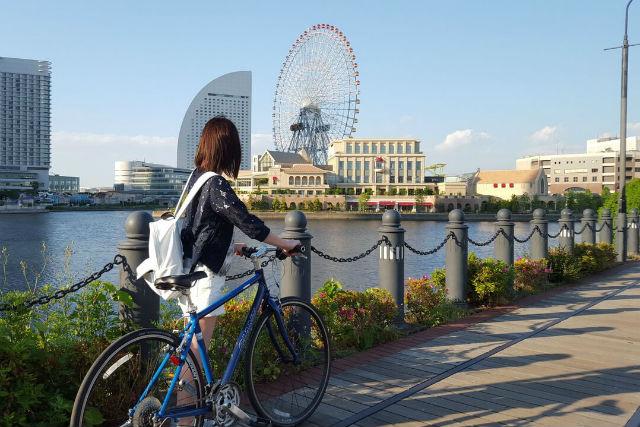 【横浜・サイクリングツアー】自転車からの視点・速度で横浜を見てみよう!横浜観光ツアー