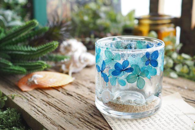 【埼玉・キャンドル作り】お花や貝殻を詰め込んで。ジェルランタン作り