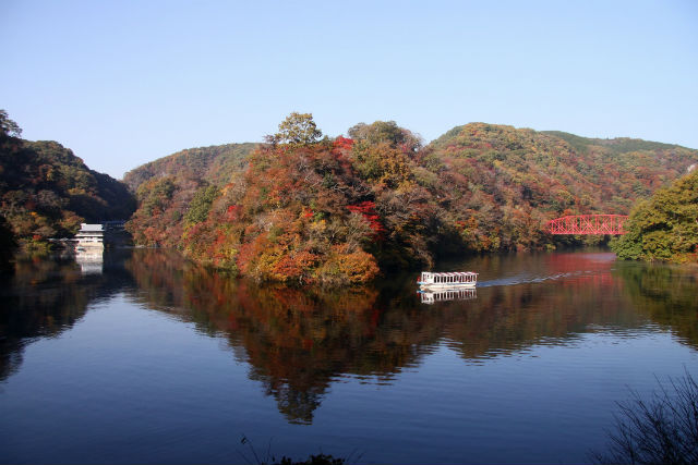 【広島・帝釈峡・クルージング】日本百景はダテじゃない!遊覧船クルージングで神龍湖を巡ろう!