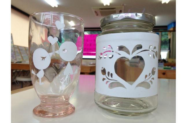 【東伊豆・サンドブラスト】ガラスに好きなデザインを彫れる!サンドブラスト体験