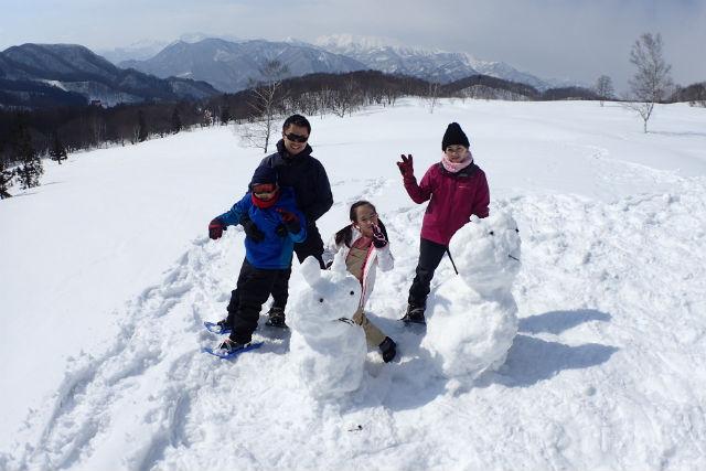 【群馬・みなかみ・スノーシュー】ふかふかの雪の上で遊び回ろう!スノーキッズプラン(半日)