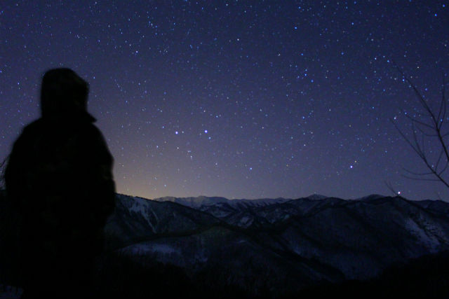 【群馬・みなかみ・スノーシュー】夜の雪原を歩いてみよう!ナイトスノーシュー
