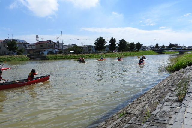 【宮城・石巻・カヌー】ビギナー向け!北上運河でカヌー体験(初心者向け)