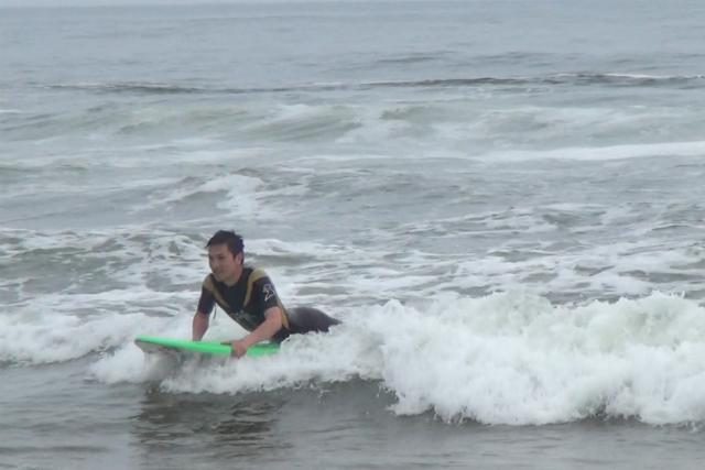 【宮城・亘理町・サーフィン】プライベートビーチでのびのび練習しよう!初心者サーフィン体験