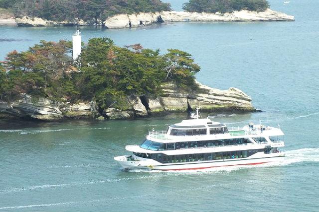 【松島周遊・クルージング】日本の絶景を見に行こう。船に乗るだけ非日常体験!