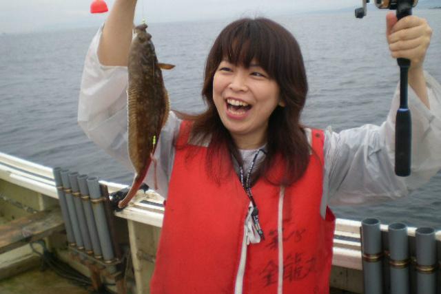 【函館・海釣り】初心者にやさしい船釣り体験!ゆったり泳ぐカレイを釣ろう