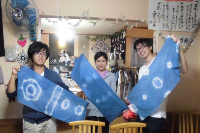 【岩手・大槌町・藍染体験】被災地で藍を育てる1年プロジェクト!藍染のストールをつくろう!