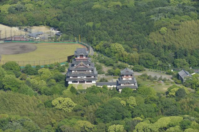 【京都・ヘリコプター遊覧・貸切】ヘリコプターで空のお散歩~伏見桃山城エリア周遊