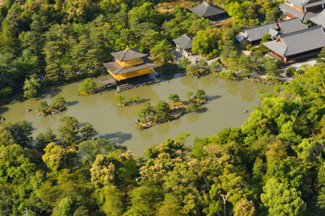 【京都・ヘリコプター遊覧・貸切】ヘリコプターで空のお散歩~金閣寺&京都周遊