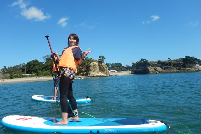 【宮城・仙台・SUP】撮影はスタッフにお任せ!海・自然・風景を全て楽しめるSUP体験!