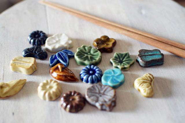 【神奈川・横浜・陶芸体験】和菓子のような愛らしさ!らくがんで箸置きをつくろう
