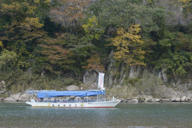 【宮城・丸森町・川下り】景勝、奇岩続きで見どころいっぱい!阿武隈ライン舟下り