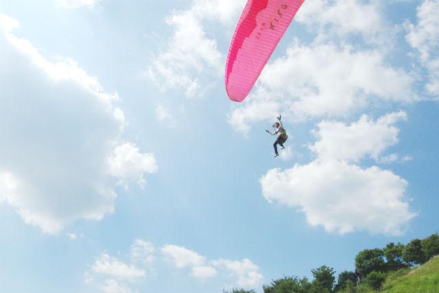【愛知・豊田・パラグライダー】1日体験(ひとりでも飛べる♪)コース『時間内に何回でもフライトチャレンジ!』