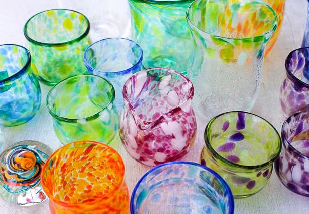 【横浜・吹きガラス】オリジナルマイグラス・花びん等/体験時間1時間/渋谷直通!