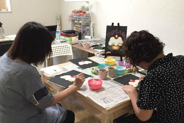 【大阪・堺・チョークアート】オーストラリア発祥のアートを、堺のアトリエで体験!
