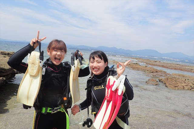 【和歌山・串本・ダイビング】水着1枚でOK!初めての体験ダイビング