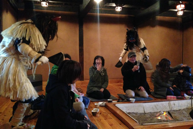 【岩手・久慈市・料理体験】囲炉裏でほっこり。古民家カフェでおやつ&伝統文化体験