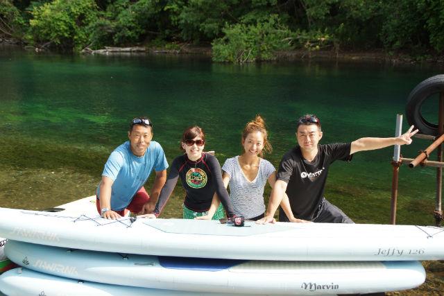 【北海道・SUP】日本一キレイな湖でSUPクルージング!支笏湖・半日プラン
