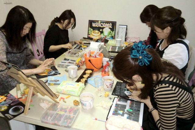 【宮城・仙台・チョークアート】指導実績800名以上!チョークアート体験レッスン