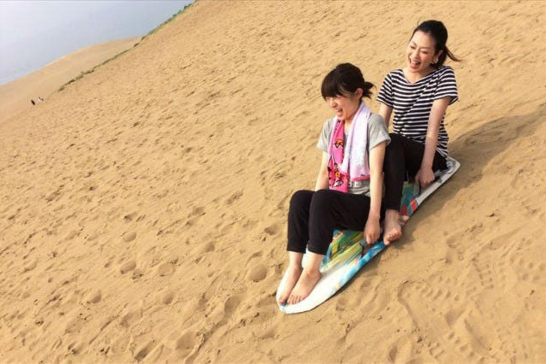 【鳥取砂丘・サンドスライダー】お一人様~OK!砂の上でソリすべり!サンドスライダー